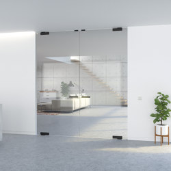 Portapivot GLASS | Double door | Internal doors | PortaPivot