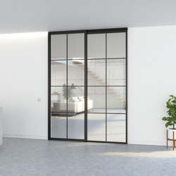 Slideways 5730 | Single door + fixed partition | Internal doors | PortaPivot