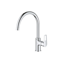 BauLoop Single-lever sink mixer 1/2"