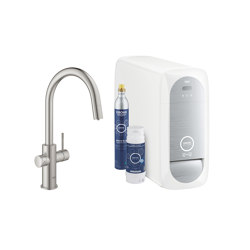 GROHE Blue Home Connected C-spout | Kitchen taps | GROHE