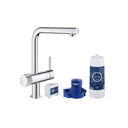 GROHE Blue Pure Minta Starter kit | Kitchen taps | GROHE
