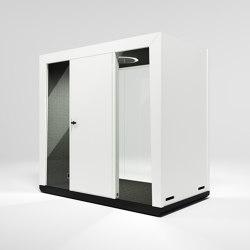 Module Duo #1 white | Office Pods | MODULE