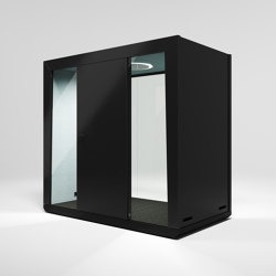 Module Duo #1 black | Office Pods | MODULE