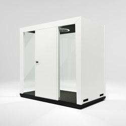 Module Duo #2 white | Office Pods | MODULE