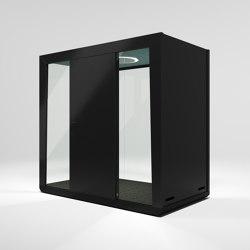 Module Duo #2 black | Office Pods | MODULE
