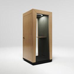 Module Solo oak | Telephone booths | MODULE
