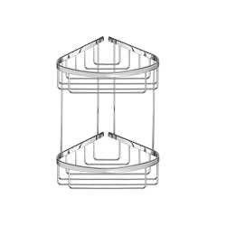 sponge dishes | Corner sponge dish (2ply) | Sponge baskets | SANCO