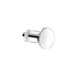 glass door handles & door stoppers | Glass single bath robe hook | Towel rails | SANCO
