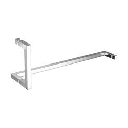 glass door handles & door stoppers | Double glass door handle | Pull handles for glass doors | SANCO