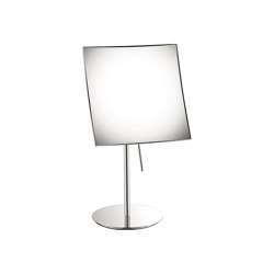 cosmetic mirrors | Portable magnifying mirror x4 | Badspiegel | SANCO