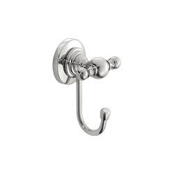 elina | Single bath robe hook | Towel rails | SANCO