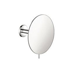 cosmetic mirrors | Wall mounted magnifying mirror x4 | Bath mirrors | SANCO