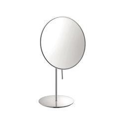 cosmetic mirrors | Portable magnifying mirror x4 | Bath mirrors | SANCO