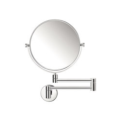 cosmetic mirrors | Wall double-sided magnifying mirror x5 | Bath mirrors | SANCO
