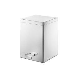 waste bins | Waste receptacle 5lt  Soft closing system | Bath waste bins | SANCO