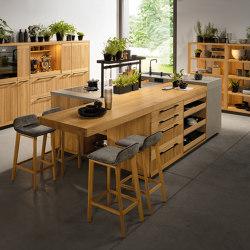 echt.zeit kitchen | Island kitchens | TEAM 7