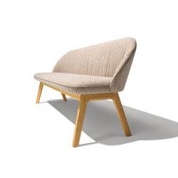 flor bench | Benches | TEAM 7