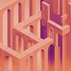 Digi-maze | Revestimientos de paredes / papeles pintados | Inkiostro Bianco