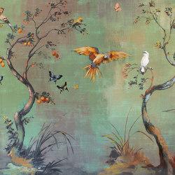 Ibis | Revestimientos de paredes / papeles pintados | Inkiostro Bianco