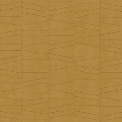 FRAMMENTI Luz Camel Layout 2 | Leather tiles | Studioart