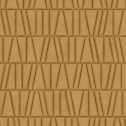 FRAMMENTI Luz Capuccino Bombato Layout 1 | Leather tiles | Studioart