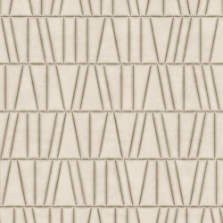 FRAMMENTI Luz Cool Bombato Layout 1 | Leather tiles | Studioart