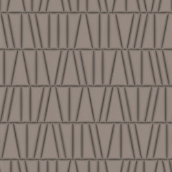 FRAMMENTI Polis Grigio Perla Bombato Layout 1 | Leather tiles | Studioart