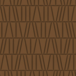FRAMMENTI Polis Taupe  Bombato Layout 1 | Leather tiles | Studioart