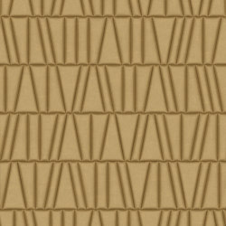 FRAMMENTI Tesoro Oro Bombato Layout 1 | Leather tiles | Studioart