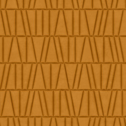 FRAMMENTI Urban Caramel Layout 1 | Leather tiles | Studioart