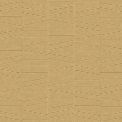 FRAMMENTI Tesoro Oro Layout 2 | Leather tiles | Studioart