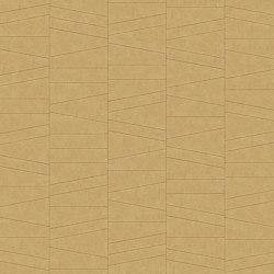 FRAMMENTI Tesoro Oro Layout 2 | Leder Fliesen | Studioart