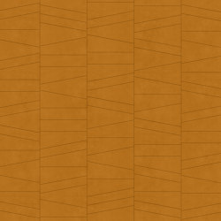 FRAMMENTI Urban Caramel Layout 2 | Leather tiles | Studioart