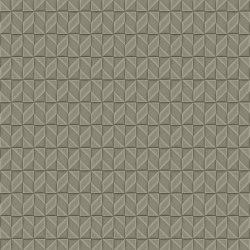 LADY N Satin Green Mirror Layout 1 | Leather tiles | Studioart