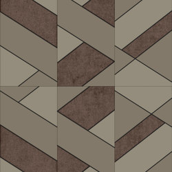LE MANS Layout A Scheme A | Leather tiles | Studioart