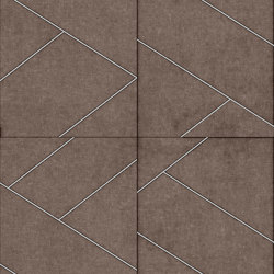 LE MANS Layout C Velluto Certosino | Leather tiles | Studioart