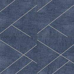 LE MANS Layout D Mushroom Oltremare | Leather tiles | Studioart