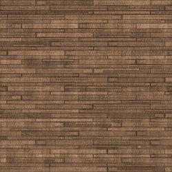 WOODS Mushroom Bronzo Layout 1 | Leather tiles | Studioart