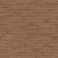 WOODS Satin Copper Layout 1 | Leather tiles | Studioart
