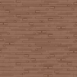 WOODS Satin Copper Layout 1 | Leder Fliesen | Studioart