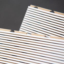 Millerighe 3/1 | Wood panels | Fantoni