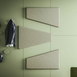 Magnetika Paddle | Sound absorbing wall systems | Ronda design