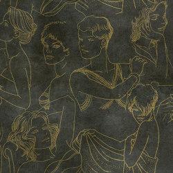 Sguardi Gold | Wall art / Murals | TECNOGRAFICA