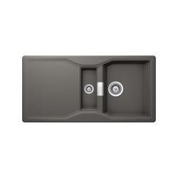 Kyoto D-150 - Silverstone | Kitchen sinks | Schock