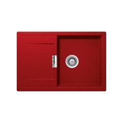 Mono D-100 - Rouge | Kitchen sinks | Schock