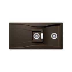 Waterfall D-150 - Bronze   Kitchen sinks   Schock