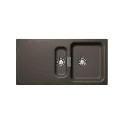 Wembley D-150 - Carbonium | Kitchen sinks | Schock