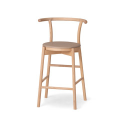 Kotan High Chair - Upholstered | Barhocker | Conde House