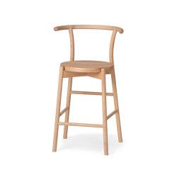 Kotan High Chair - Wood | Bar stools | Conde House