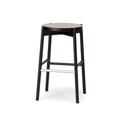 Kotan High Stool - Linoleum | Barhocker | Conde House